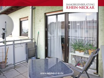 *** Eigennutzung oder Kapitalanlage: Gepflegte 3 ZKB Wohnung mit Balkon ***, 68307 Mannheim / Sandhofen, Etagenwohnung